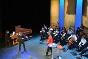 Strasbourg, Cité de la musique. Milord & Don Polidoro.