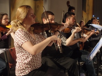 Orchestre en répétition