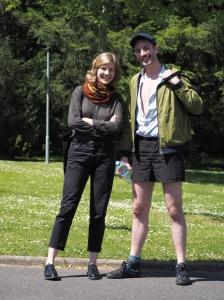 Benjamin Prins et Pénélope Driant (assistante)